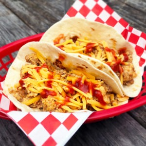 Authentic Mexican Chorizo and Egg Tacos