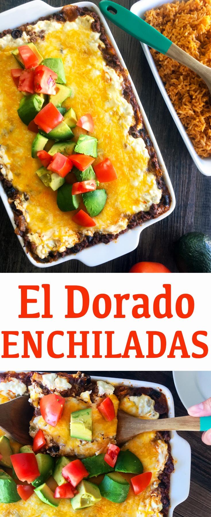 El Dorado Enchilada Casserole