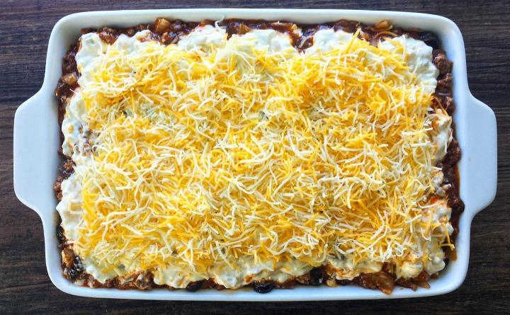 6 layer El Dorado Enchiladas